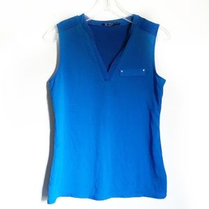 The Limited Royal Blue Sleeveless Blouse